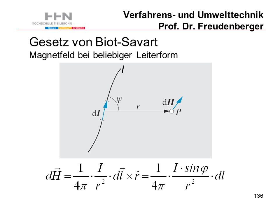 136 Verfahrens- und Umwelttechnik Prof. Dr.