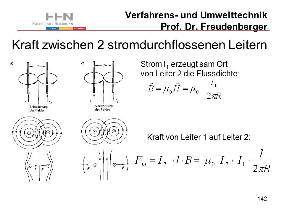 142 Verfahrens- und Umwelttechnik Prof. Dr.