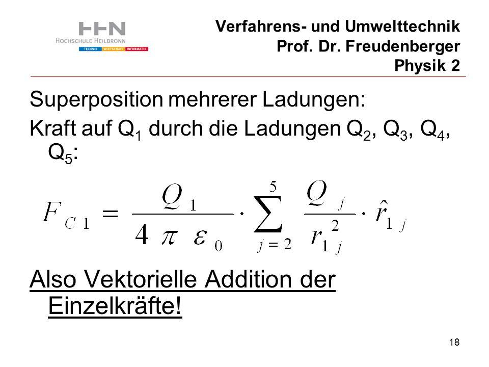 18 Verfahrens- und Umwelttechnik Prof. Dr.