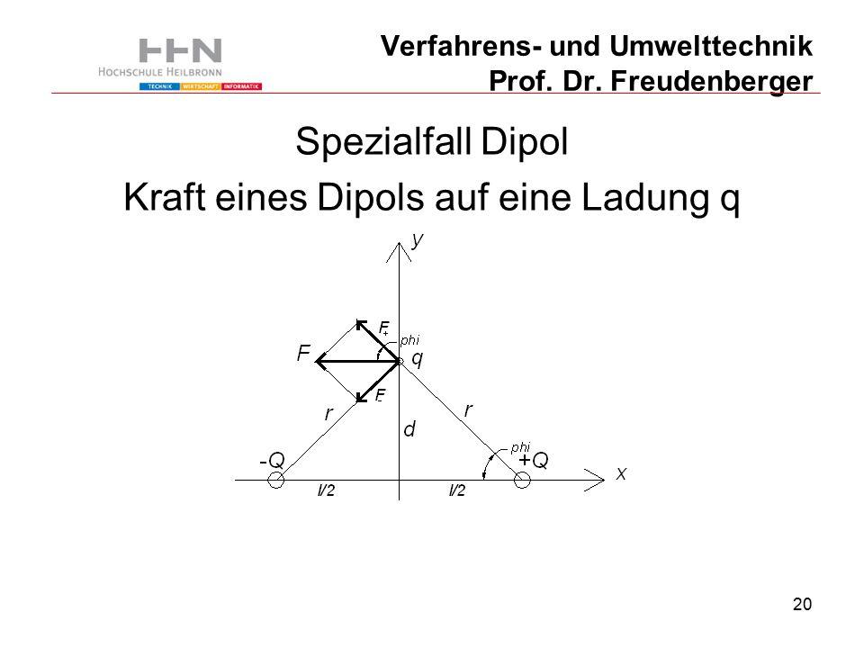 20 Verfahrens- und Umwelttechnik Prof. Dr.
