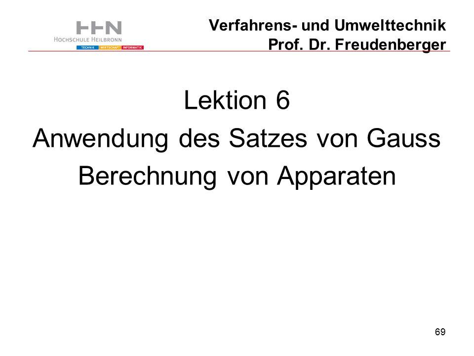 69 Verfahrens- und Umwelttechnik Prof. Dr.