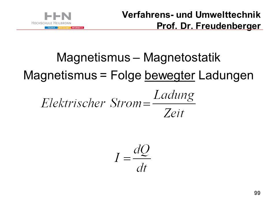 99 Verfahrens- und Umwelttechnik Prof. Dr.