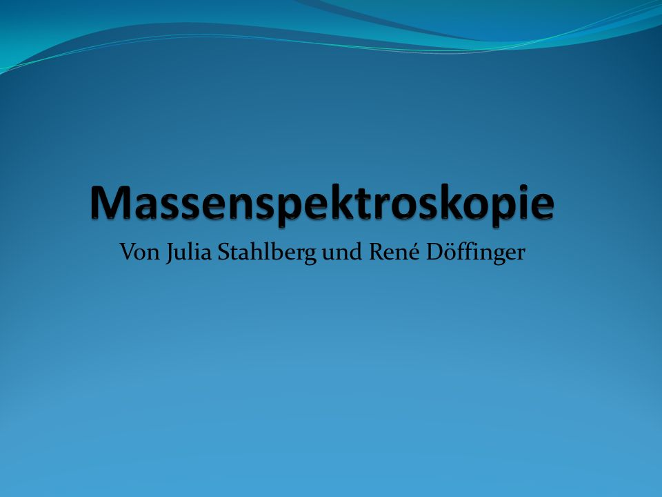 Von Julia Stahlberg und René Döffinger