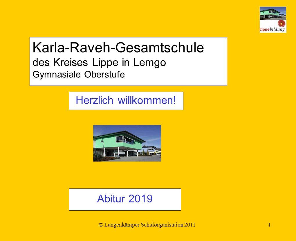 © Langenkämper Schulorganisation 20111 Herzlich willkommen.