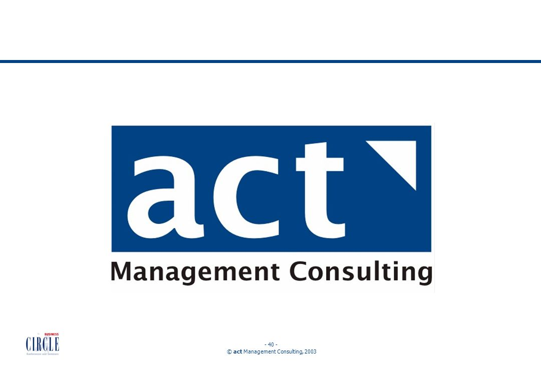 © act Management Consulting,