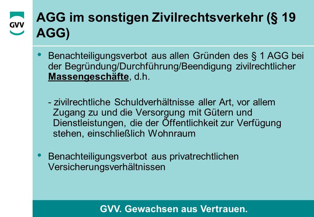 GVV. Gewachsen aus Vertrauen.
