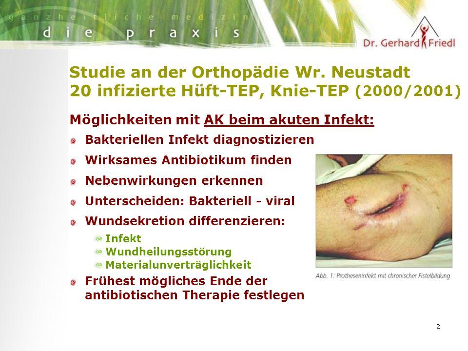 2 Studie an der Orthopädie Wr.