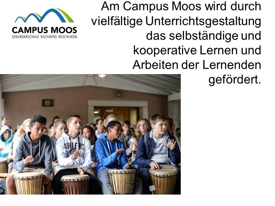 Am Campus Moos wird durch vielfältige Unterrichtsgestaltung das selbständige und kooperative Lernen und Arbeiten der Lernenden gefördert.