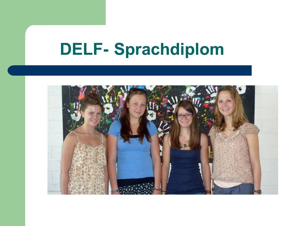 DELF- Sprachdiplom
