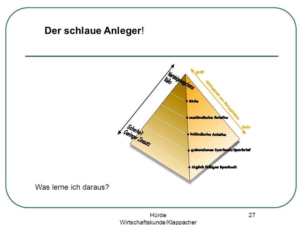 Hürde Wirtschaftskunde/Klappacher 26 Gruppenpuzzle
