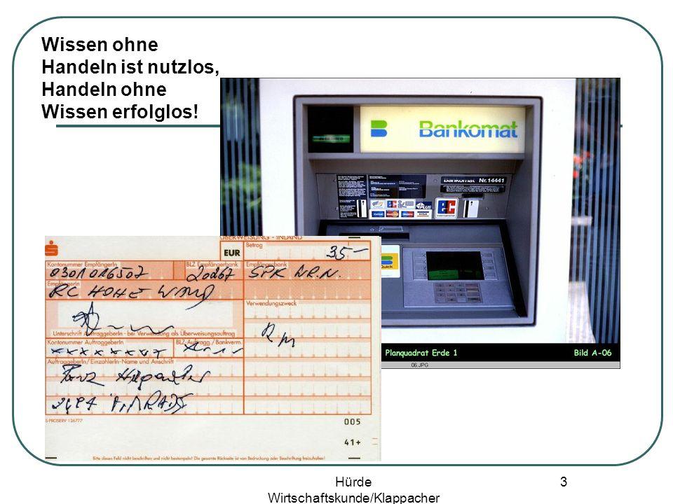 Hürde Wirtschaftskunde/Klappacher 2 Geld/Währung