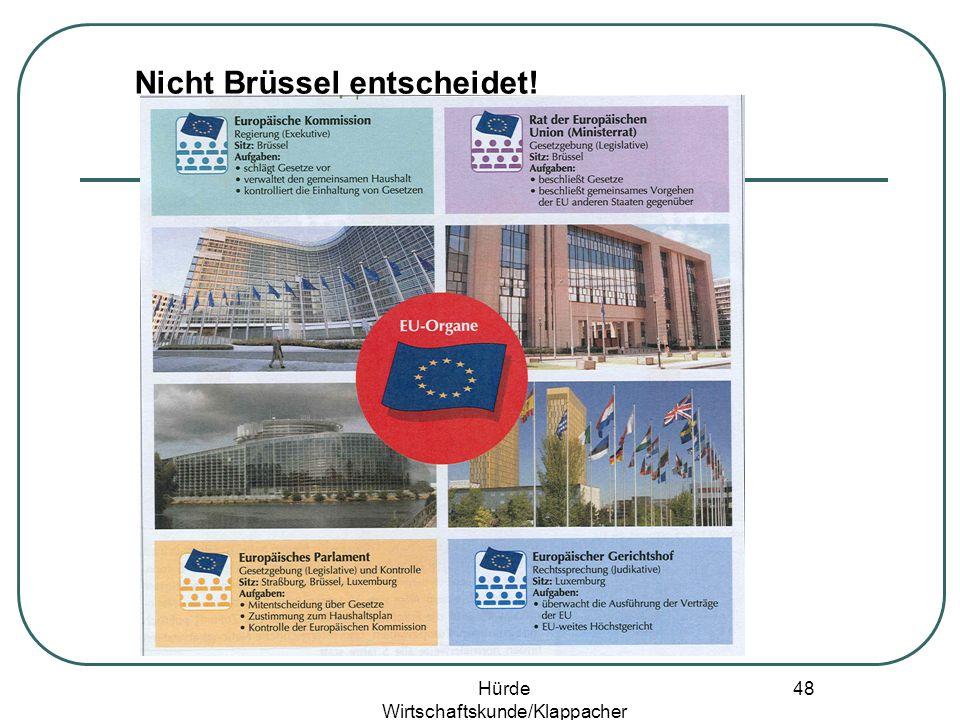 Hürde Wirtschaftskunde/Klappacher 47 Binnenmarkt – gute Beispiele sind gefragt!