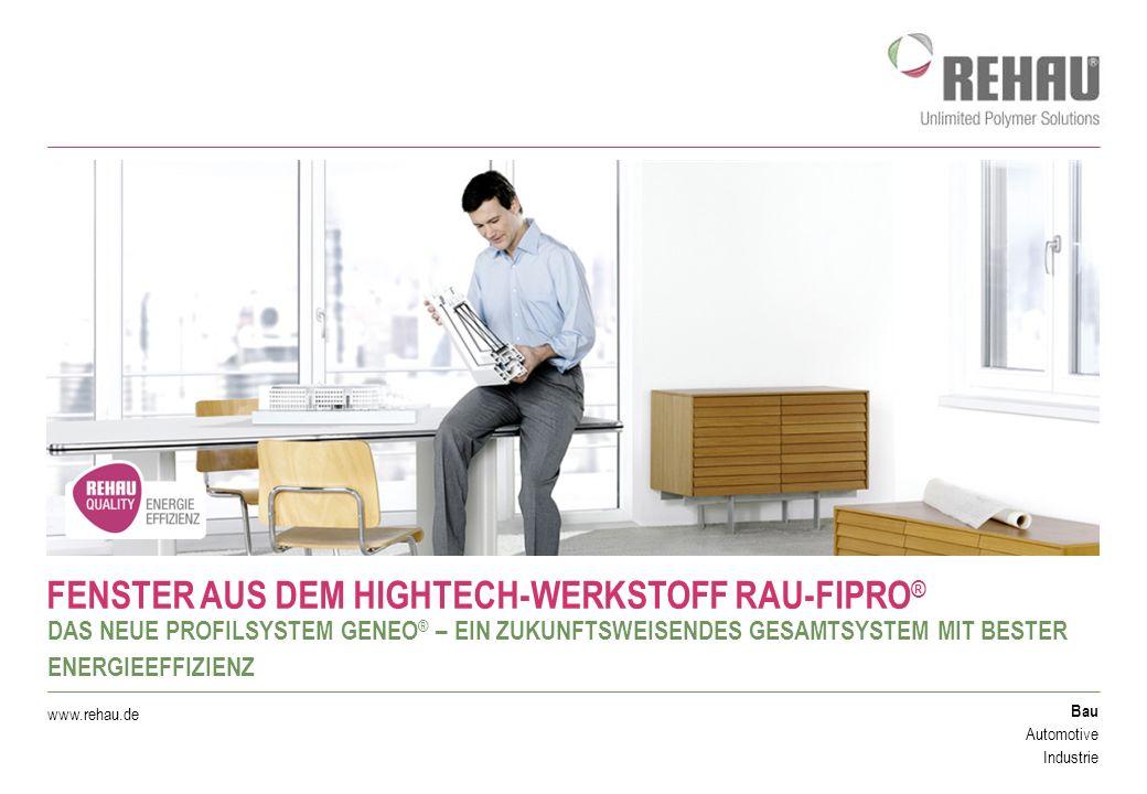 © REHAU - 30.05.2016 - Seite 12 UNSCHLAGBAR WÄRMEDÄMMEND GENEO ® SETZT BEIM ENERGIESPAREN NEUE MASSSTÄBE Vor der Renovierung: alte Holzfenster.