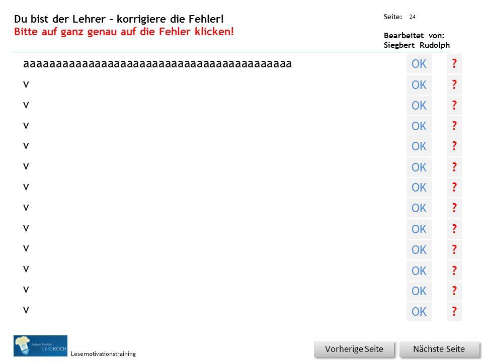 Übungsart: Seite: Bearbeitet von: Siegbert Rudolph Lesemotivationstraining Erklärung Wo liegt …..