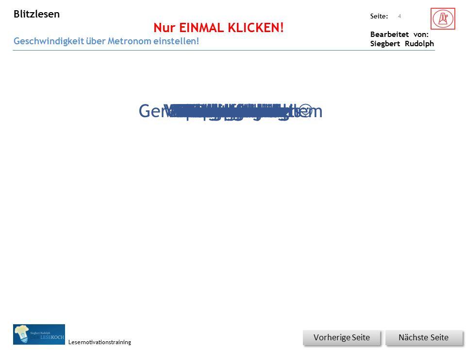 Übungsart: Seite: Bearbeitet von: Siegbert Rudolph Lesemotivationstraining Wörter auf Klick lesen – mit Silbenkennung evtl.