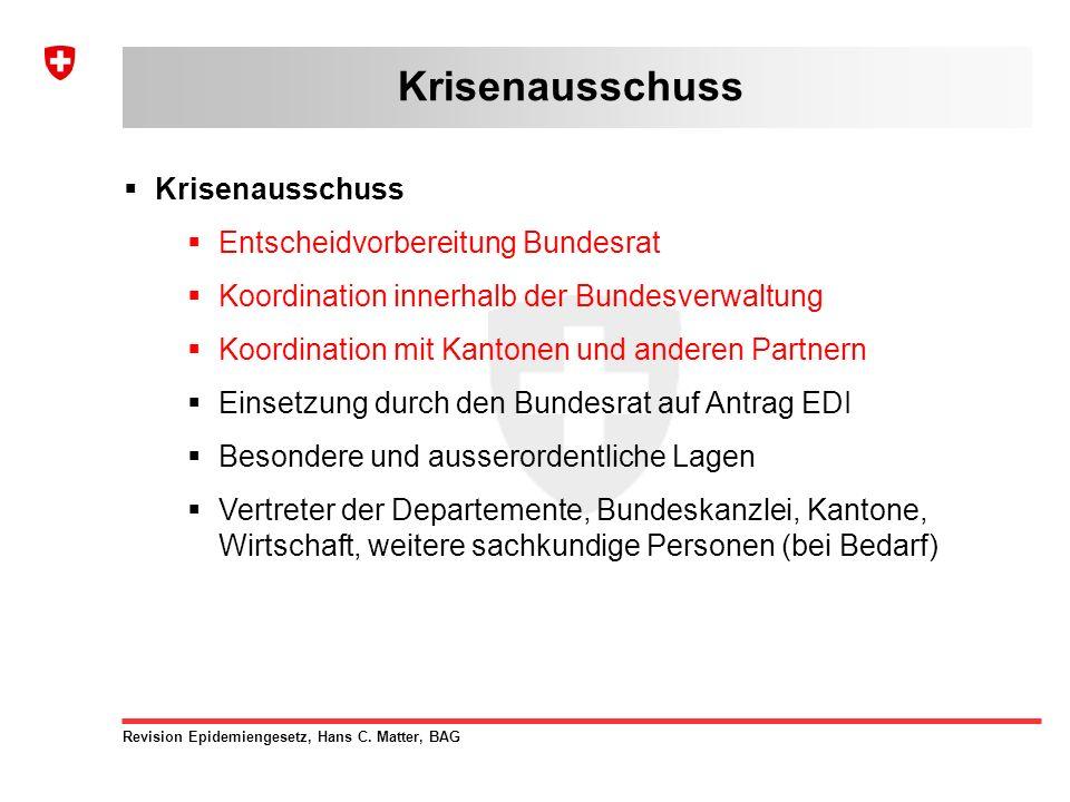 Revision Epidemiengesetz, Hans C.