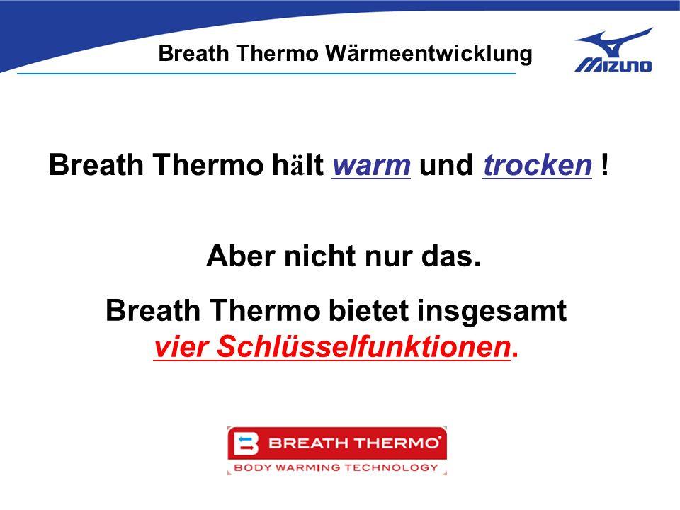 Breath Thermo h ä lt warm und trocken . Aber nicht nur das.