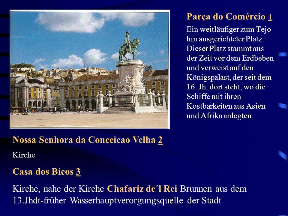 Torre de Belém 34 Am Ufer des Tejo steht der Torre de Belém an genau der Stelle, an der Vasco da Gama und andere Seefahrer ihre Entdeckungsreisen begannen.