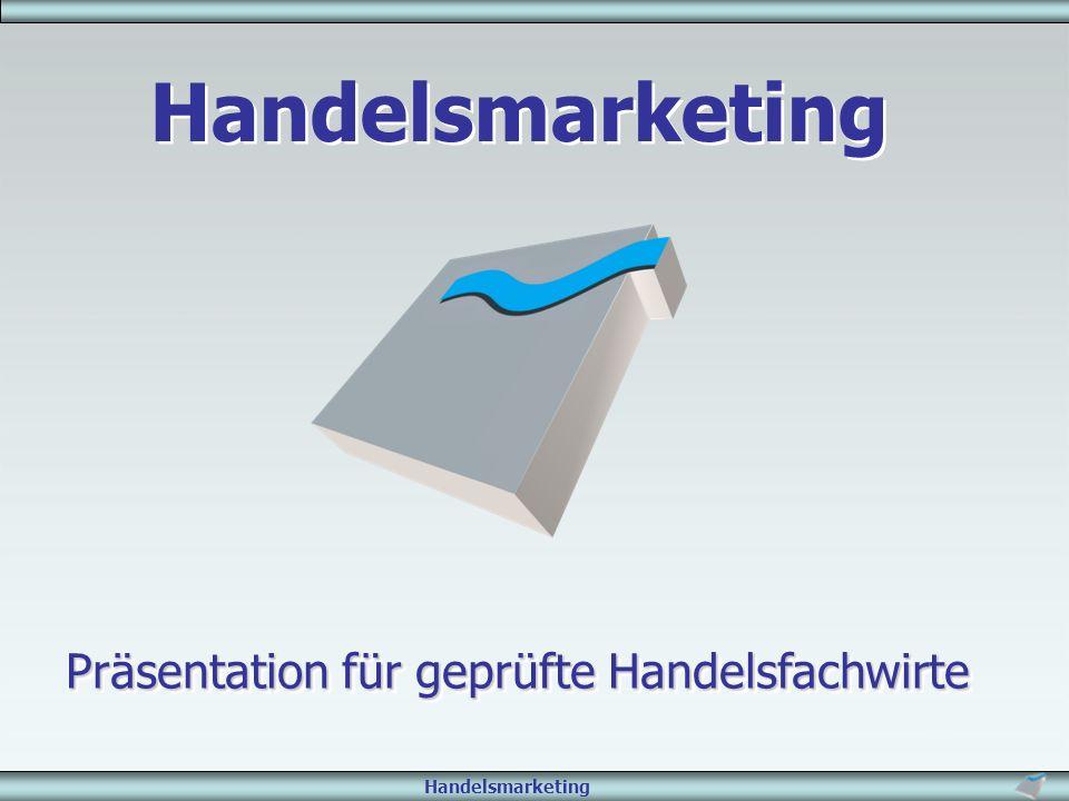 Handelsmarketing Präsentation für geprüfte Handelsfachwirte