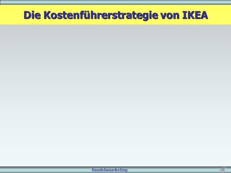 Handelsmarketing Die Kostenführerstrategie von IKEA