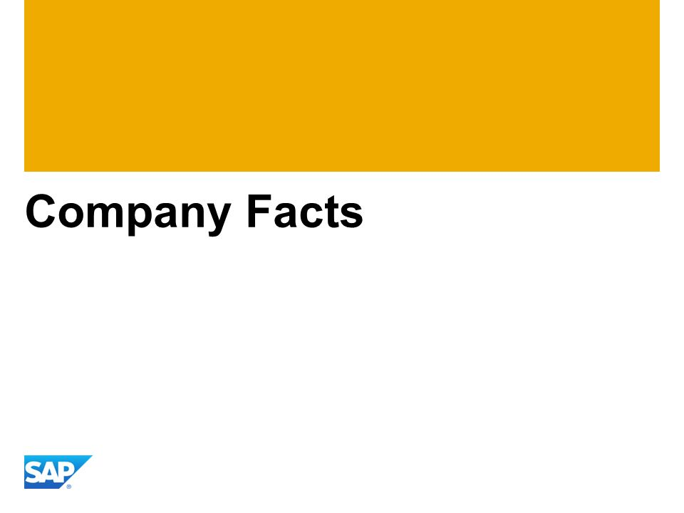 Company Facts