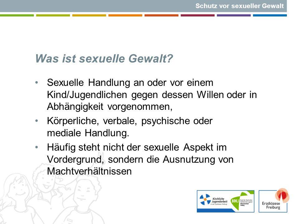 Schutz vor sexueller Gewalt Straftat Der Täter/die Täterin wird sofort aus der Jugendarbeit ausgeschlossen.