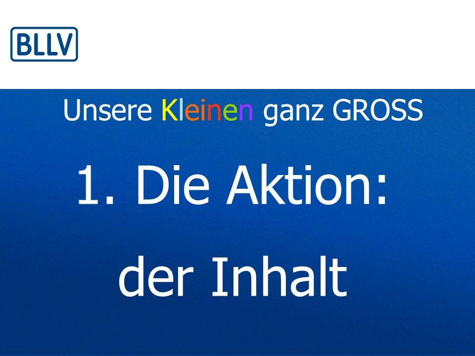 Ziele der GS-Aktion GS-L positionieren sich: Wir sind jemand.