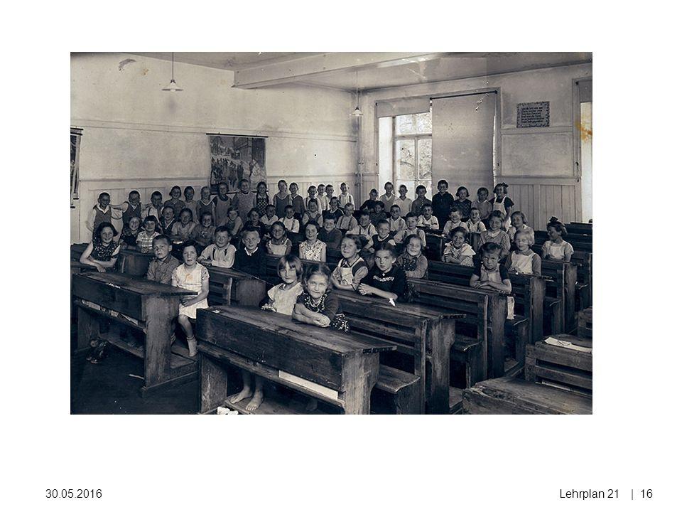 30.05.2016Lehrplan 21| 16 1937
