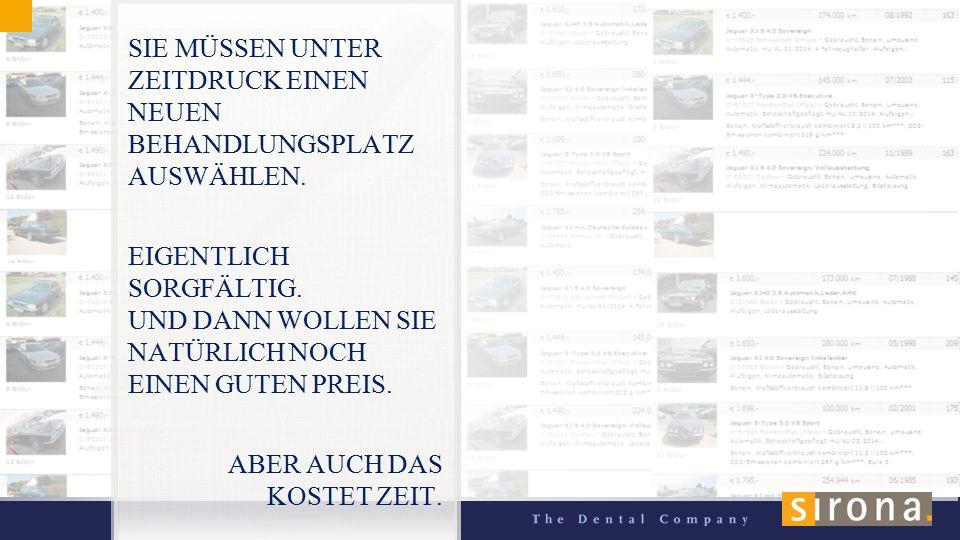 77 SIE MÜSSEN UNTER ZEITDRUCK EINEN NEUEN BEHANDLUNGSPLATZ AUSWÄHLEN.