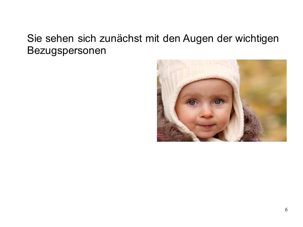 """7 """"Das Kind von einem Schwein ist immer noch ein Ferkel. (Helga Saller) Notwendigkeit, sich mit den schwierigen leiblichen Eltern auch positiv zu identifizieren."""