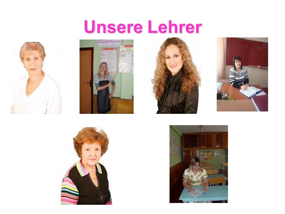 Unsere Lehrer