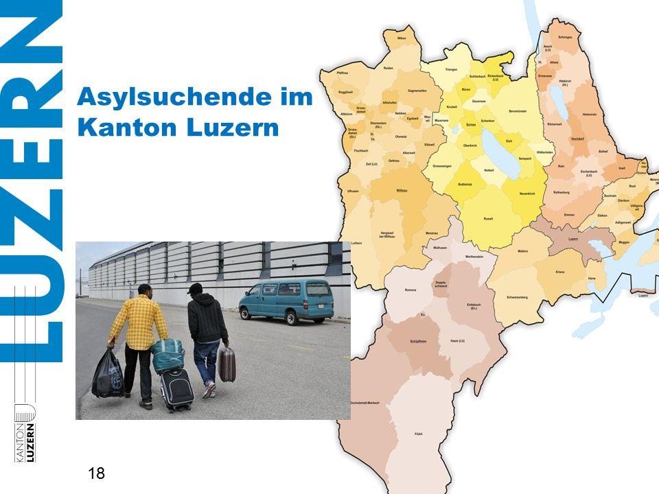 Asylsuchende im Kanton Luzern 18