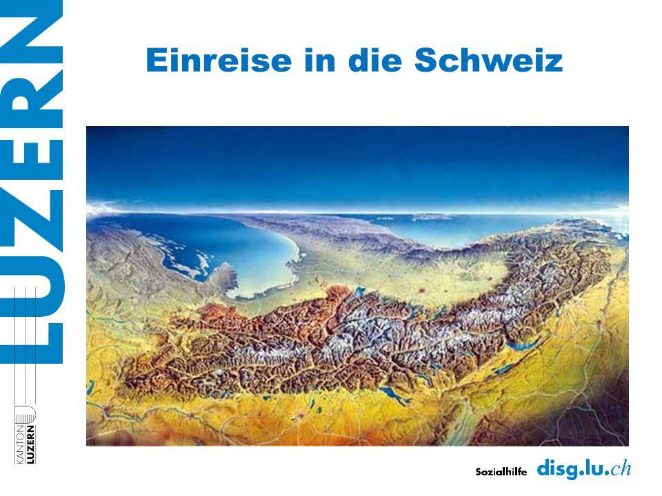 Einreise in die Schweiz