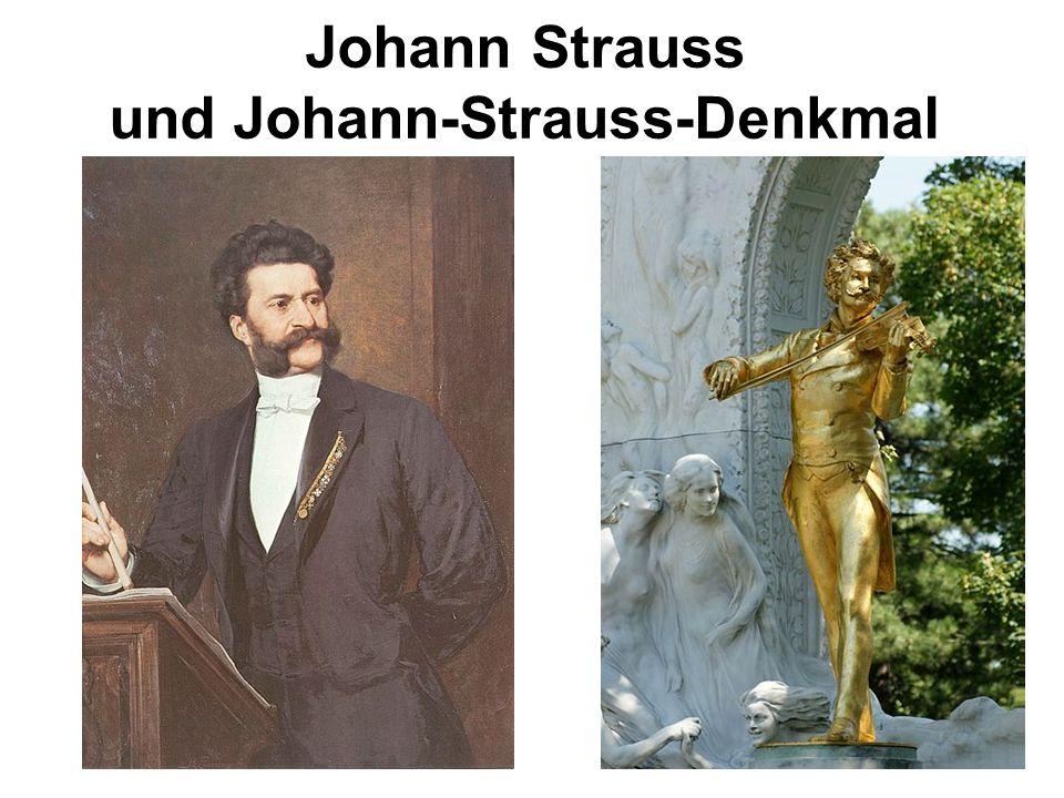 Johann Strauss und Johann-Strauss-Denkmal
