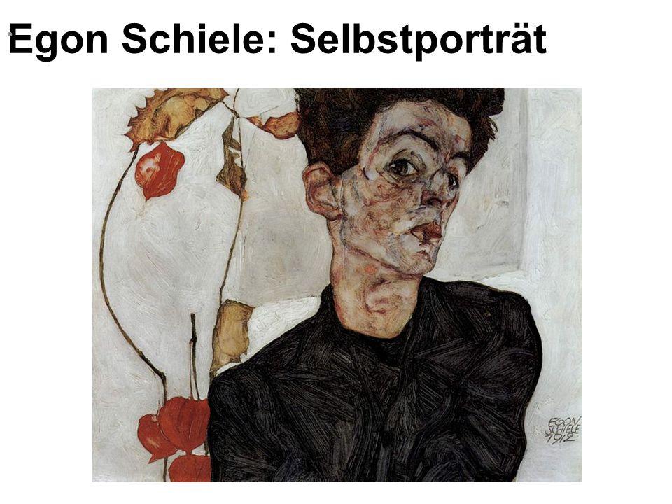 Egon Schiele: Selbstporträt