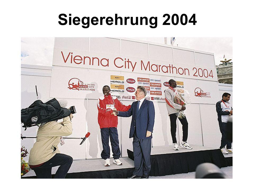 Siegerehrung 2004