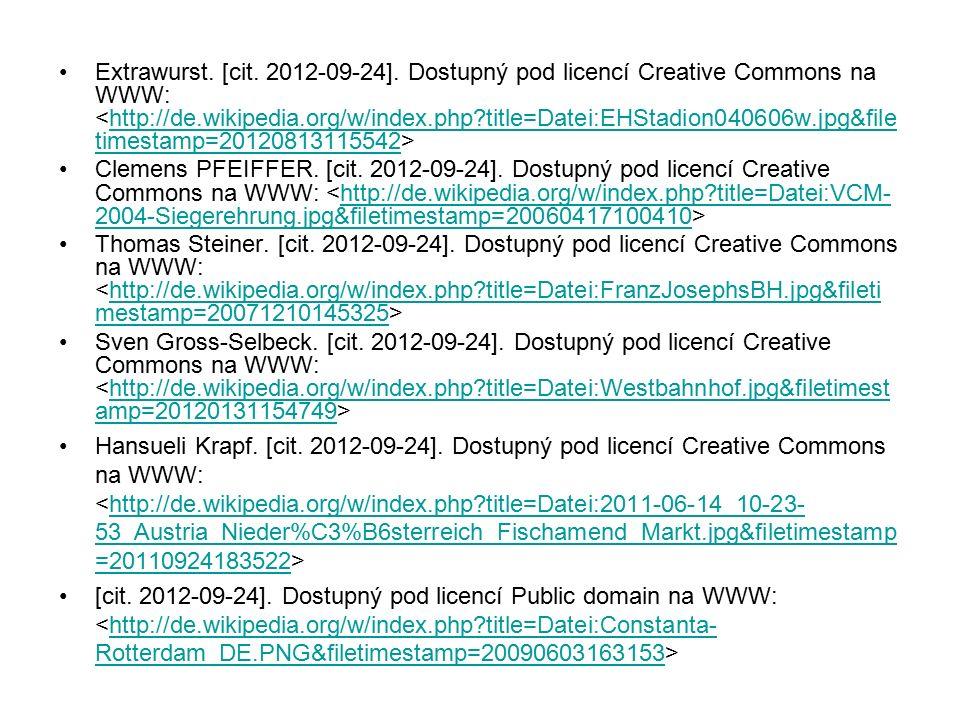 Extrawurst. [cit. 2012-09-24]. Dostupný pod licencí Creative Commons na WWW: http://de.wikipedia.org/w/index.php?title=Datei:EHStadion040606w.jpg&file