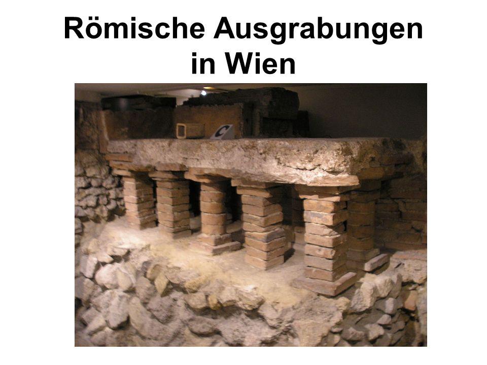Römische Ausgrabungen in Wien