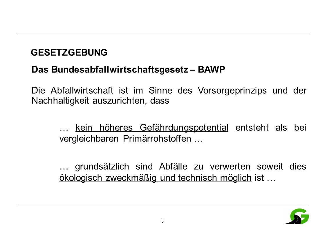 36 ÖNORM EN 13108-8 Ausbauasphalt – Anforderungen Gestein muss den Ansprüchen der geforderten Gesteinsklasse entsprechen Nachweis entfällt wenn Zugabemenge < 10% ist (außer G1 und GS) Bewertung des resultierenden Bindemittels im Asphaltmischgut erfolgt über den ERK.