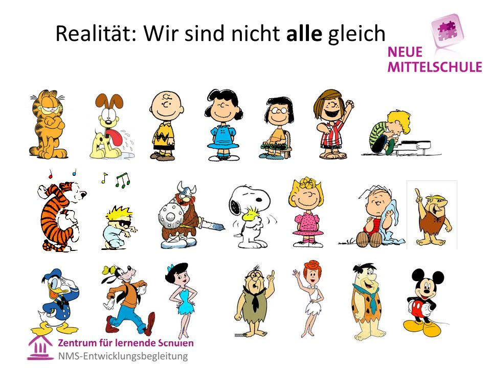 Realität: Wir sind nicht alle gleich