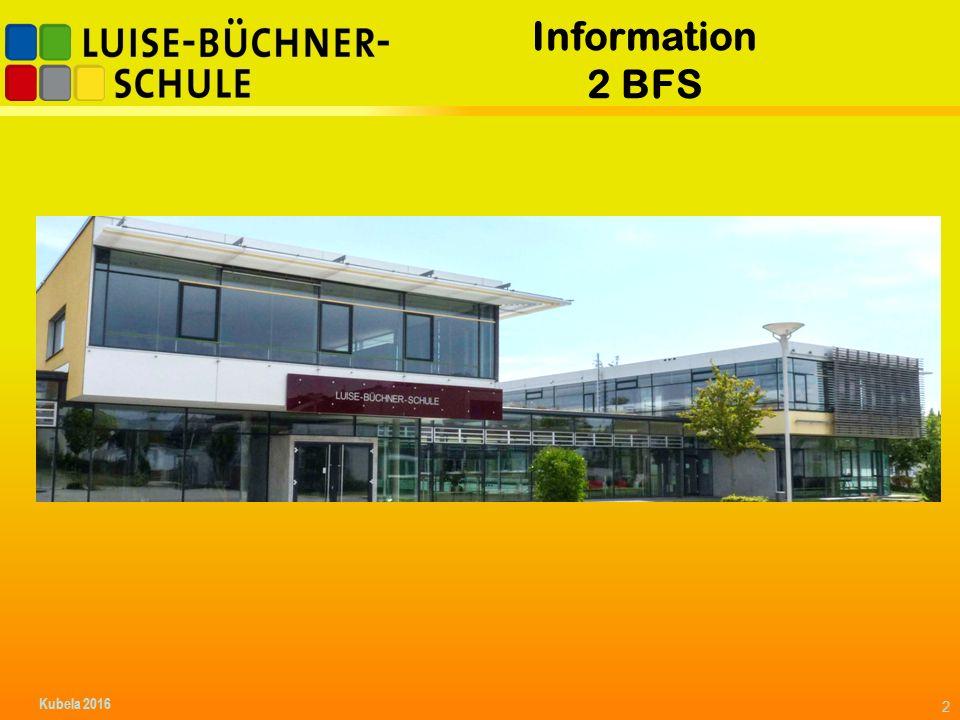 Information 2 BFS 2 Kubela 2016