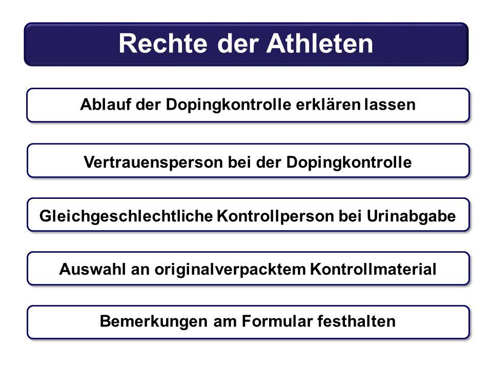 Rechte der Athleten
