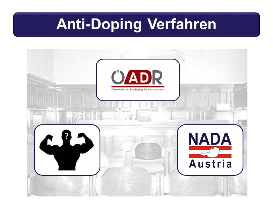 Anti-Doping Verfahren