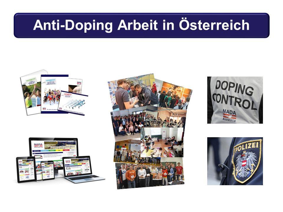 Anti-Doping Arbeit in Österreich