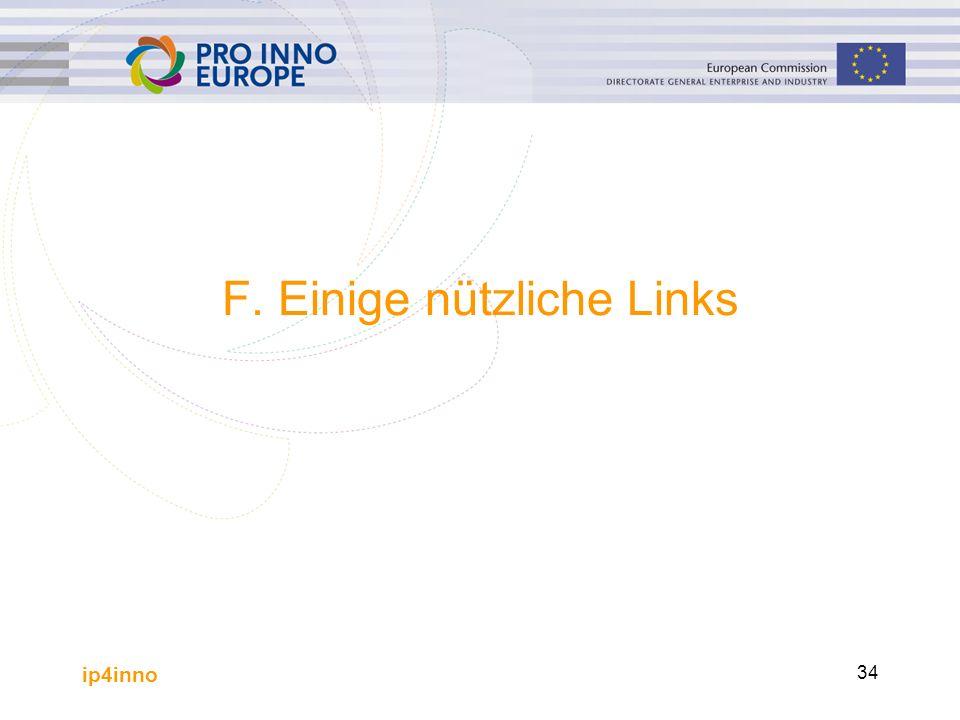ip4inno 34 F. Einige nützliche Links
