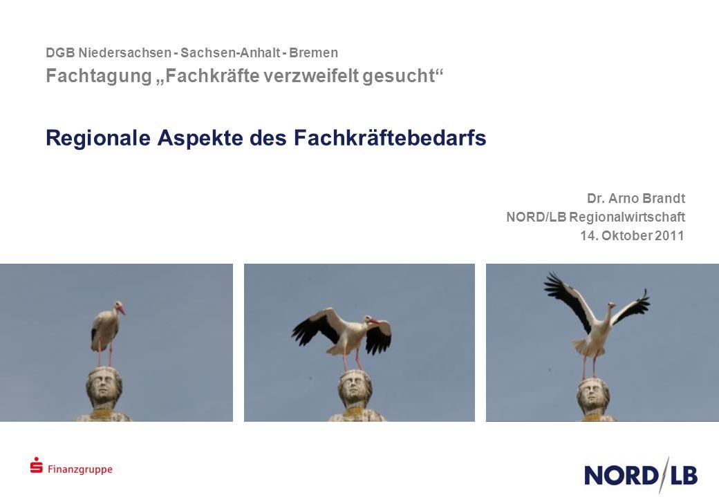 """DGB Niedersachsen - Sachsen-Anhalt - Bremen Fachtagung """"Fachkräfte verzweifelt gesucht Regionale Aspekte des Fachkräftebedarfs Dr."""