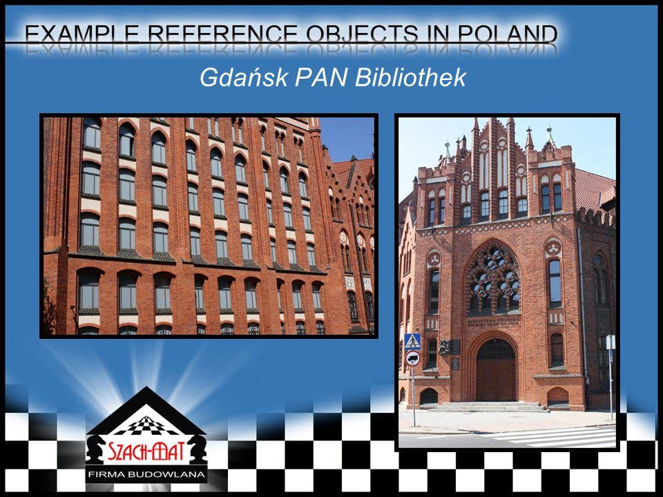 Gdańsk PAN Bibliothek