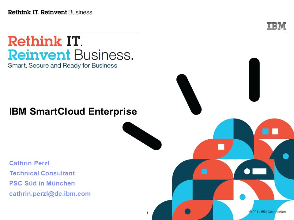 © 2011 IBM Corporation 22 Die Datensicherung der SmartCloud Server kann auf Basis der IBM Managed Backup Cloud Services in ein separates Data Center realisiert werden.