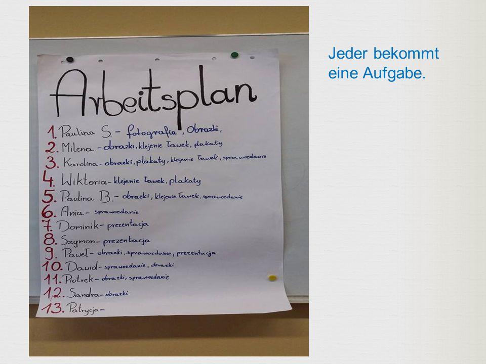 Die Schulleiterin im Deutschunterricht.