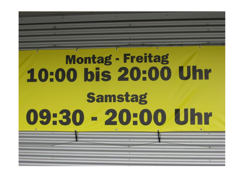 Word Order Example Time Verb Subject Noun Am Montag spiele ich Fußball.
